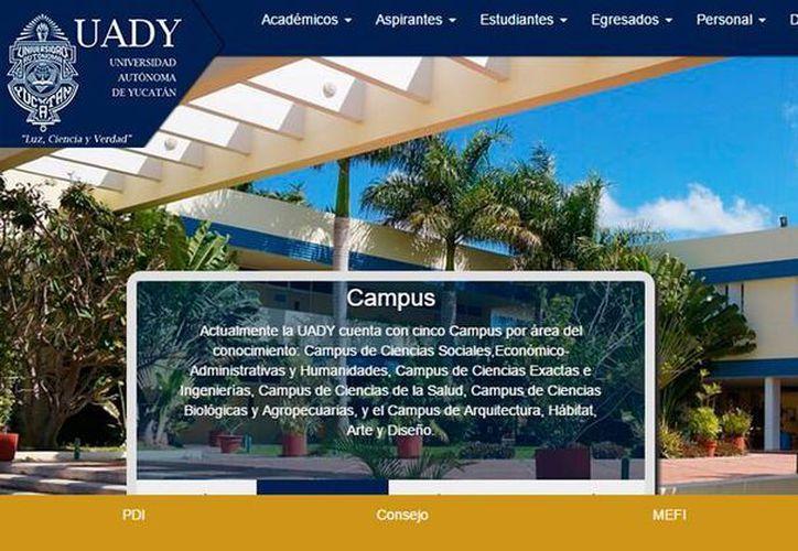 La Uady lanzará, el próximo ciclo escolar, su primera carrera 'en línea'. (SIPSE)