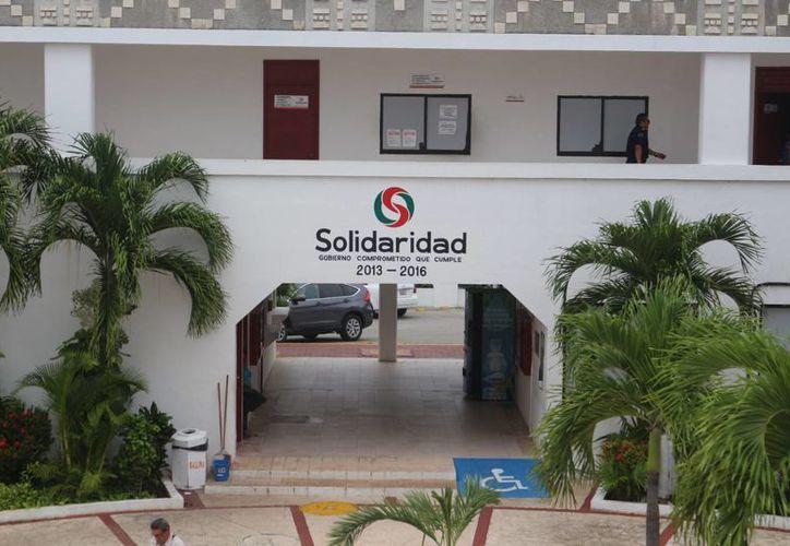 El Ayuntamiento de Solidaridad definirá la próxima semana con qué banco obtendrá el nuevo crédito que le autorizó el Congreso del Estado. (Adrián Barreto/SIPSE)
