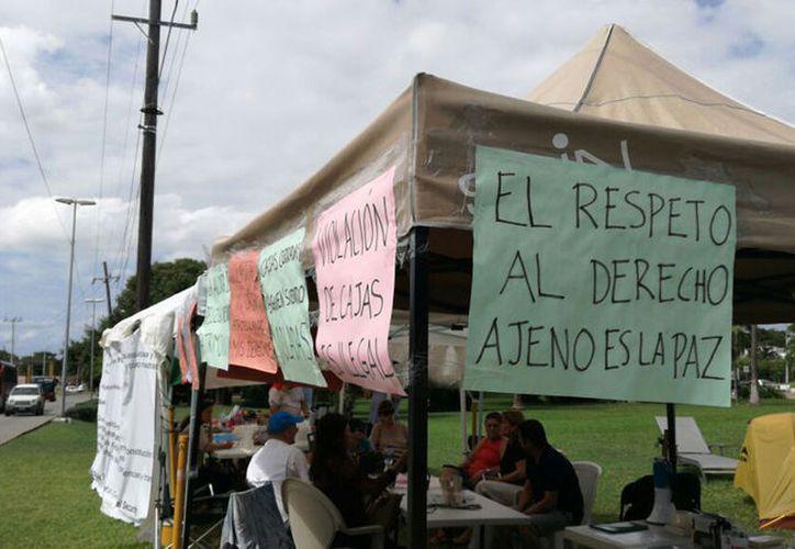 La empresa hasta el momento ha tramitado tres demandas de amparo.  (Claudia Olavarría/SIPSE)