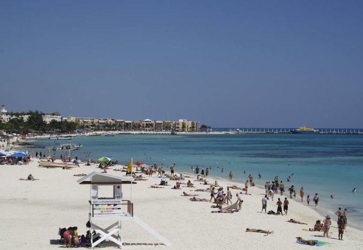 Playa del Carmen se ubicó entre las tres ciudades del país, de entre 100 y 250 mil habitantes, con mayor crecimiento en generación de empresas. (Adrián Barreto/SIPSE)