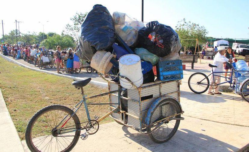 550 familias canjearon sus desechos por artículos básicos. (SIPE/José Acosta)