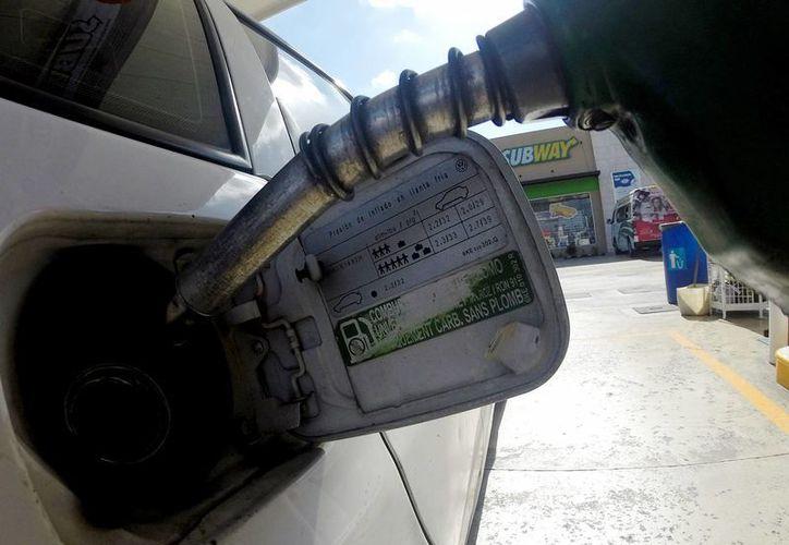 Para este viernes, el precio máximo para la gasolina Magna quedó en 16.54 pesos, para la Premium en 18.30 pesos y para el diésel se ajustó a 17.61 pesos por litro. (Notimex)