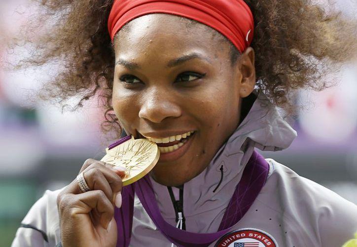 Williams ganó este año 2 Grand Slam y la medalla de Oro en Londres 2012. (Foto: Agencias)