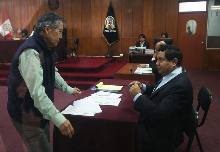 Fujimori cumple una sentencia de 25 años por crímenes de lesa humanidad durante su mandato. (EFE)