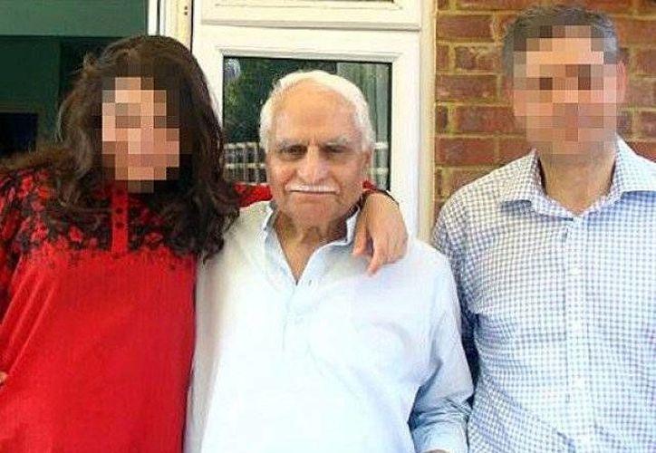 El general brigadier paquistaní Usman Khalid (c), falleció el año ´pasado de cáncer. (The Telegraph)
