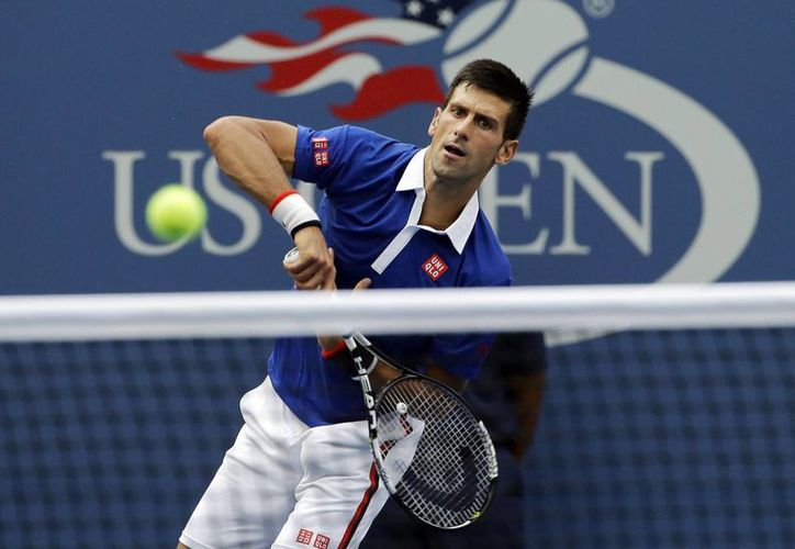 El serbio Novak Djokovic solamente necesitó de 71 minutos para eliminar de la primera ronda del US Open a su rival, el brasileño Joao Souza. (AP)
