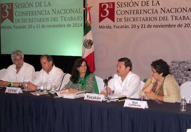 Ayer se clausuró en Mérida la 3ª sesión de la Conferencia Nacional de Secretarios del Trabajo. (SIPSE)
