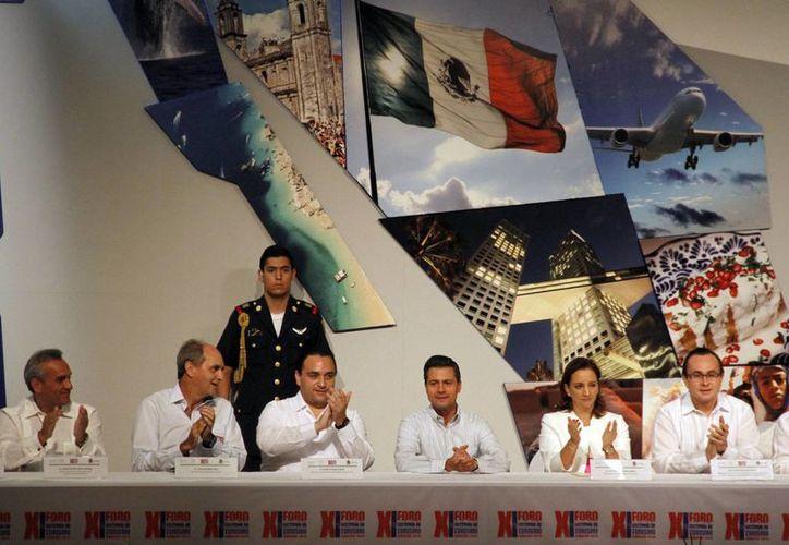 La XI edición del Foro Nacional de Turismo se realiza en el hotel Iberostar. (Israel Leal/SIPSE)