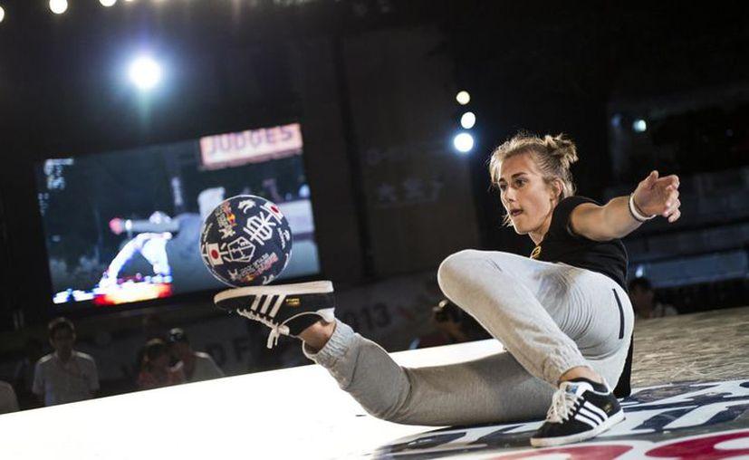 Melody Donchet fue coronada en el Campeonato Mundial de Freestyle. (Foto: Contexto/Internet)