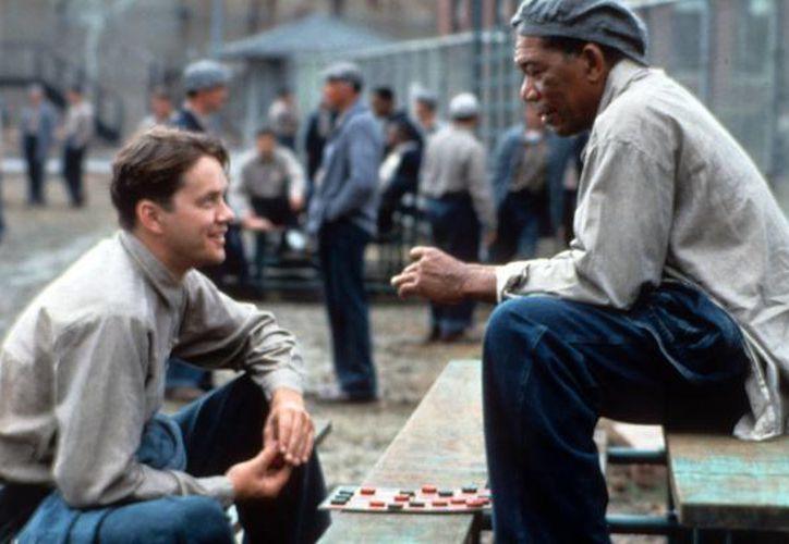 Tim Robbins y Morgan Freeman también formarán parte del archivo nacional de EU gracias a The Shawshank Redemption (Sueño de Fuga, 1994) (huffingtonpost.com)