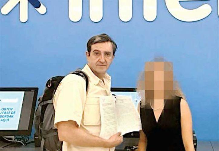 Rafael y su esposa, quien pidió omitir su nombre, narraron que las autoridades activaron un protocolo S-12 (antiterrorismo) y que ha interpuesto una queja ante Profeco. (SIPSE)