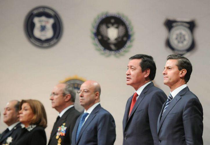 Peña Nieto dijo que se reforzarán las acciones federales en las zonas con mayor nivel de inseguridad. (Archivo/Notimex)