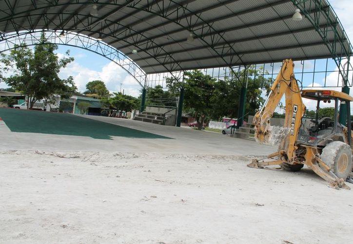 Las nuevas medidas del Domo Central cumplen con los requerimientos para realizar torneos estatales, a diferencia de la antigua ubicación. (Juan Carlos Gómez/SIPSE)
