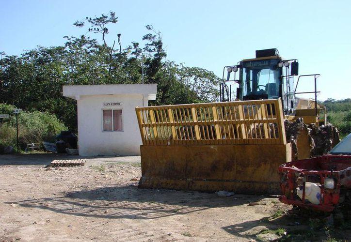 Desde ayer la Conagua dispone del terreno situado en la periferia de la ciudad donde se edificará el Centro Estatal de Atención a Emergencias Climatológicas. (Manuel Salazar/SIPSE)