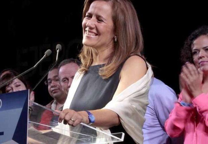 Fuentes panistas señalan a Margarita Zavala en los primeros lugares del listado plurinominal del PAN para llegar a San Lázaro. (Archivo/Notimex)