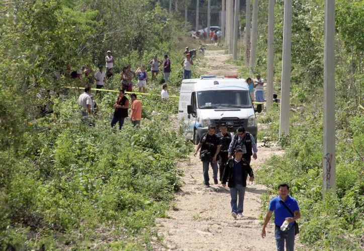 La menor apareció asesinada el pasado miércoles en la Región 251. (Eric Galindo/SIPSE)