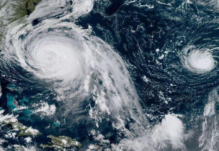 En los últimos 20 días sehan registrado 13 de los 14 sistemas tropicales previstos en el Atlántico, para la Temporada de Huracanes 2018. (Archivo)
