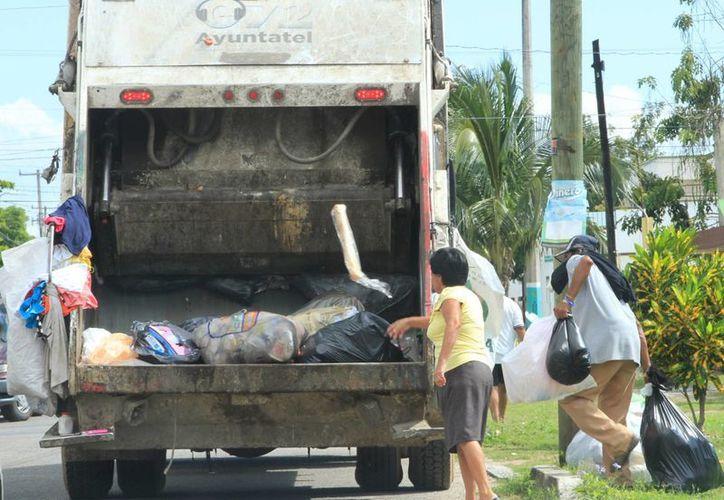 La mayoría de los quejosos solicita el servicio de recolección de basura. (Ángel Castilla/SIPSE)