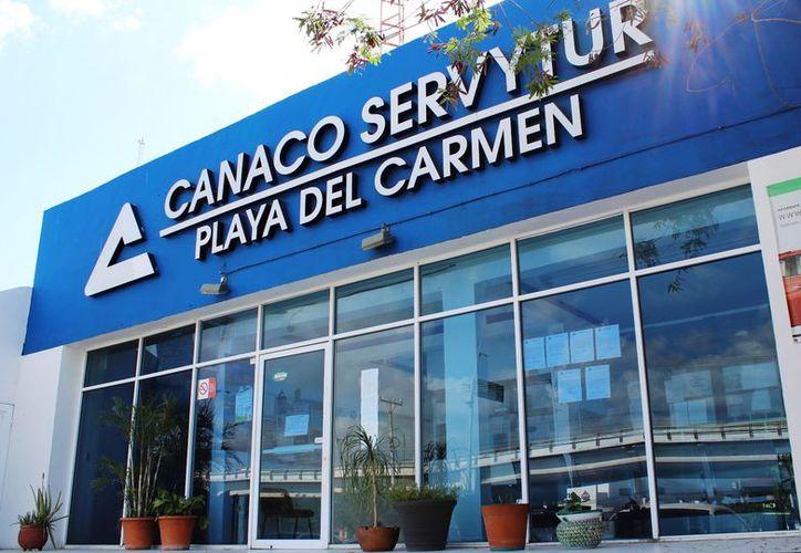 La CANACO ServyTur aseguró que se interpondrá una queja en contra de quien resulte responsable. (Daniel Pacheco/SIPSE)