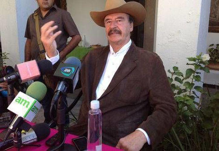 Para el ex presidente Vicente Fox, 'Peña Nieto está centrado en lo que México necesita'. (Milenio/Foto de archivo)