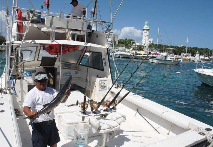 El torneo de pesca se realizará del 10 al 13 de mayo. (Marco Do Castella/SIPSE)