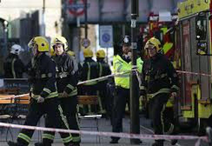 Estado Islámico confirmó que son responsables del atentado en el metro de Londres.  (Daniel Leal-olivas/AFP).