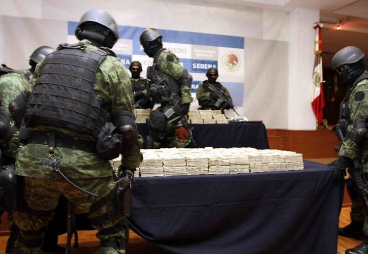 Las autoridades han dado duros golpes a las finanzas de narcotraficantes mexicanos. (Archivo/Notimex)