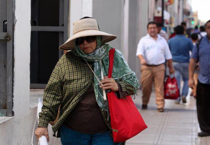 Mientras que la temperatura máxima este viernes fue de 32.5 grados en Yucatán, este sábado podría llegar a 40. (Amílcar Rodríguez/Milenio Novedades)