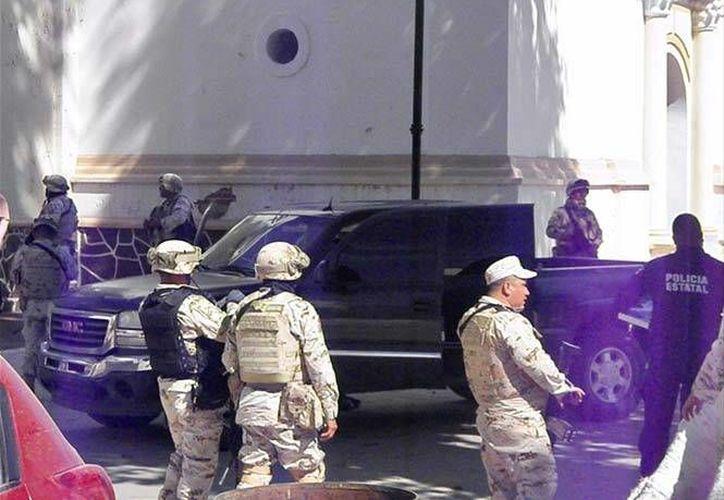 No se registraron enfrentamientos entre el comando armado y las fuerzas de seguridad. (Excélsior)