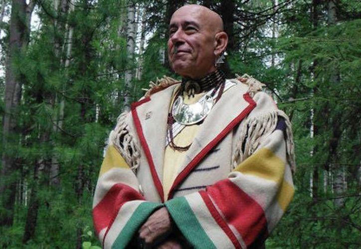 Pluma Blanca denuncia que el gobierno les ha quitado sus tierras sagradas. (Ria Novosti\ígor Yermáchenkov)