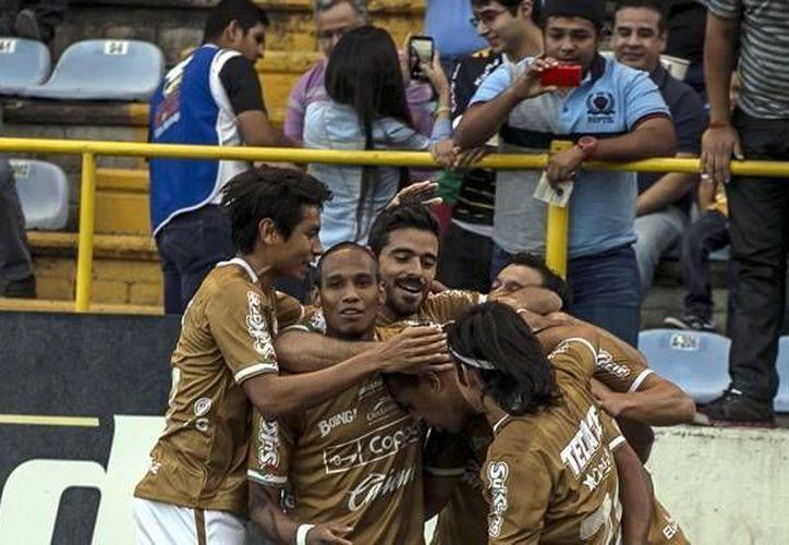 Aunque Rayos de Necaxa perdió ante Dorados de Sinaloa (foto), ya tiene su boleto al partido por el ascenso (mexsport.com)