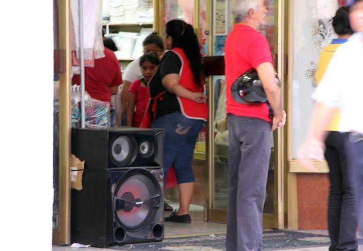 Aunque las multas por ruido pueden llegar a ser de más de 1.8 millones de pesos, en el Centro Histórico de Mérida no han superado los 8 mil 500 pesos. (Milenio Novedades)