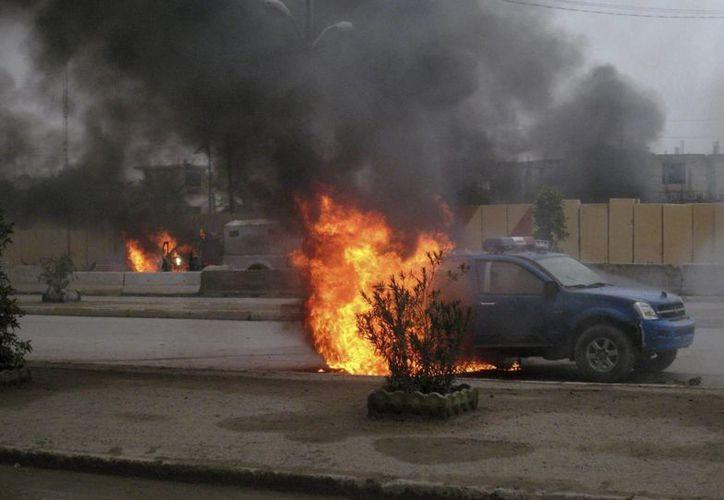 Irak registró el domingo ataques en varias zonas del país. (EFE)