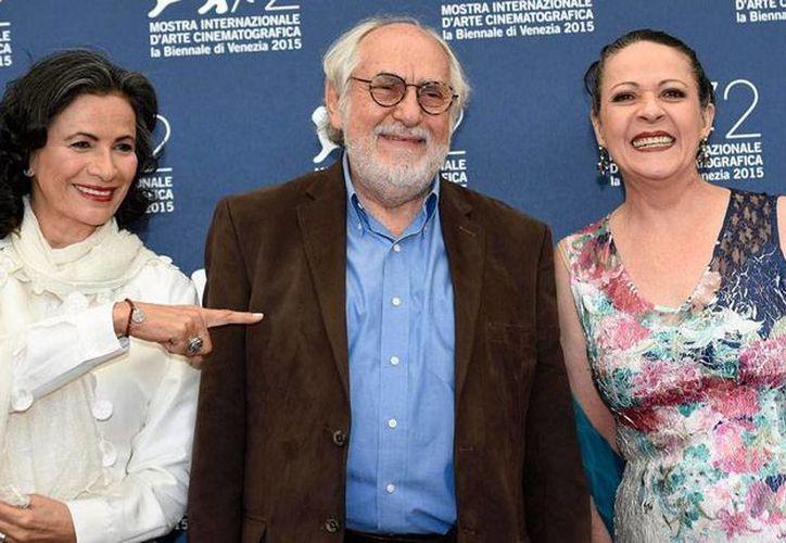 Arturo Ripstein, quien ayer presentó su película 'La calle de la amargura' -a la que corresponde la foto- fue homenajeado por la La Mostra, en Venecia. (Efe)