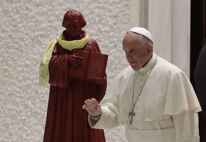 El Papa Francisco viajará la próxima semana a Suecia para convivir con la pequeña comunidad católica de ese país europeo. (AP/Alessandra Tarantino)