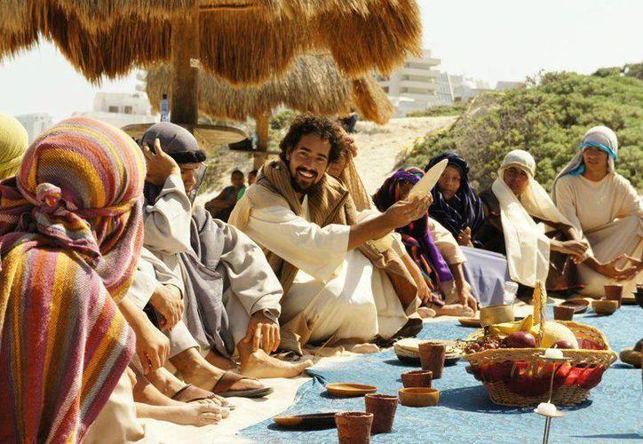 La misa se llavará a cabo en el mismo escenario del Viacrucis. (Fotografía de Ricardo Ruvalcaba)