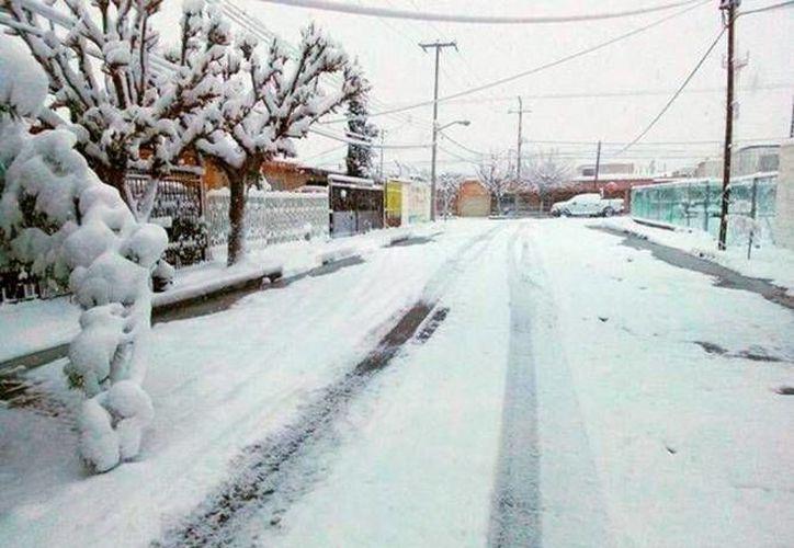 Para las próximas horas se espera que bajen las temperaturas en el noroeste de México hasta el punto de que habrá nevadas y caerá aguanieve. (Foto de archivo tomada de frontera.info)