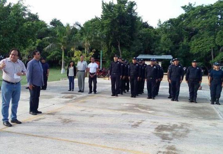 Agradeció al presidente municipal de Othón P. Blanco por su confianza. (Claudia Martin/SIPSE)
