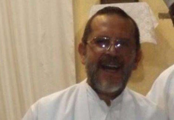 El párroco José Luis Sánchez Ruiz, de 54 años. (Milenio)