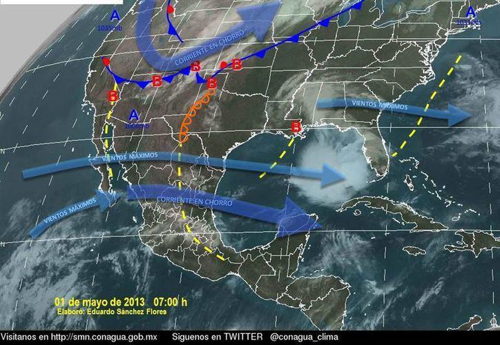 Soplarán vientos variables de 30 a 50 km/h. (Cortesía/SIPSE)