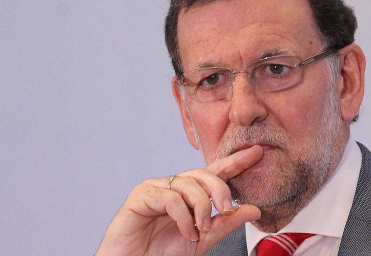 Apenas este sábado Mariano Rajoy se pronunció sobre el nuevo escándalo político que golpea al gobierno de España: la detención de Rodrigo Rato. (Archivo/Notimex)
