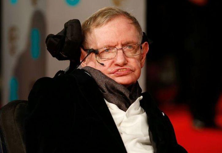 Hawking logró convertirse en el científico más famoso contemporáneo. (Foto: AFP)
