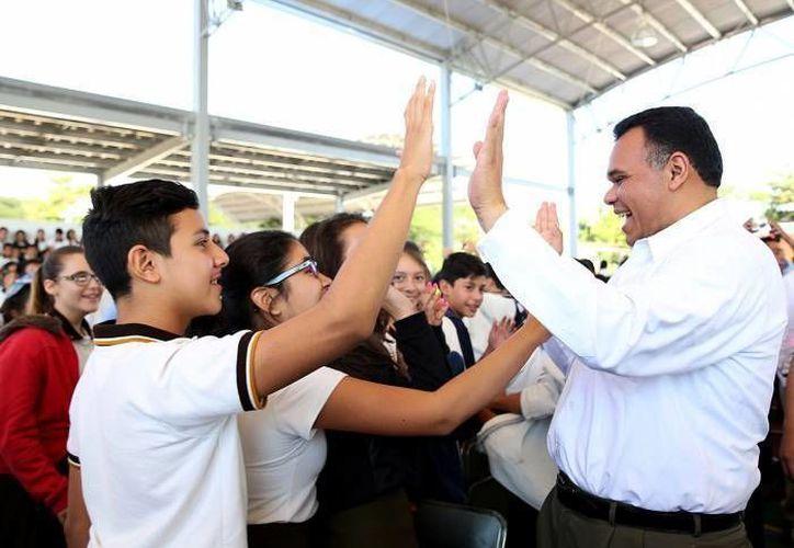 El gobernador Rolando Zapata estará este jueves en la Feria del Empleo de Siglo XXI y en la  presentación de nuevas acciones del Sistema Integral de Transporte Urbano de la zona Metropolitana de Mérida 'Situr'. (Milenio Novedades)