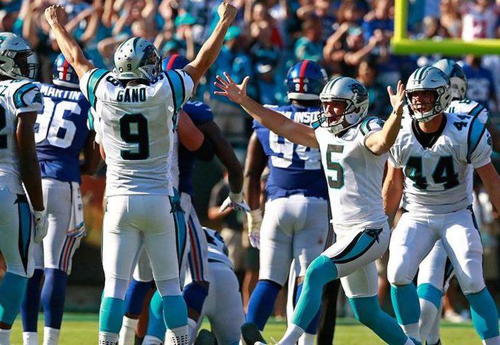 Los Panthers de Carolina ganaron 33 - 31 antes los Giants de New York. (El Economista)