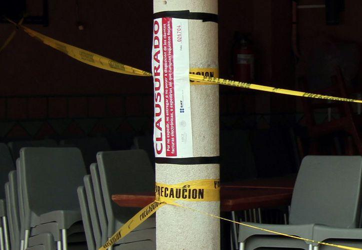 Un conocido restaurante de la ciudad fue clausurado esta semana por no expedir facturas electrónicas. (Foto: Milenio Novedades)