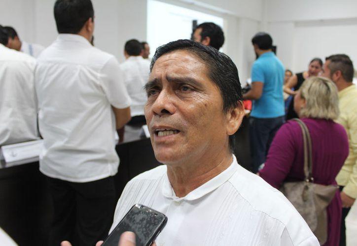 Jorge Luis Ovando Martínez indicó que sus compañeros están en la mejor disposición de abonar a los proyectos de los contendientes. (Joel Zamora/SIPSE)