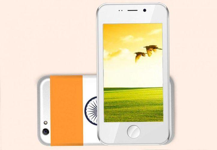 El teléfono Freedom 251estará disponible solo en India. (Especial)
