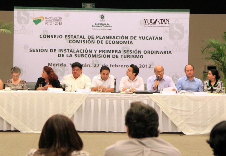 Reunión de autoridades turísticas (SIPSE)