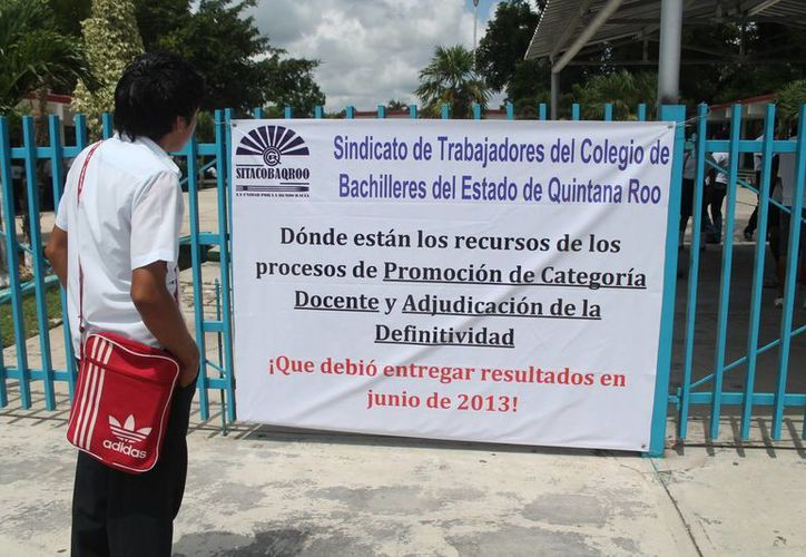 Falta de acuerdos perjudican a mil 300 alumnos en el municipio. (Carlos Horta/SIPSE)