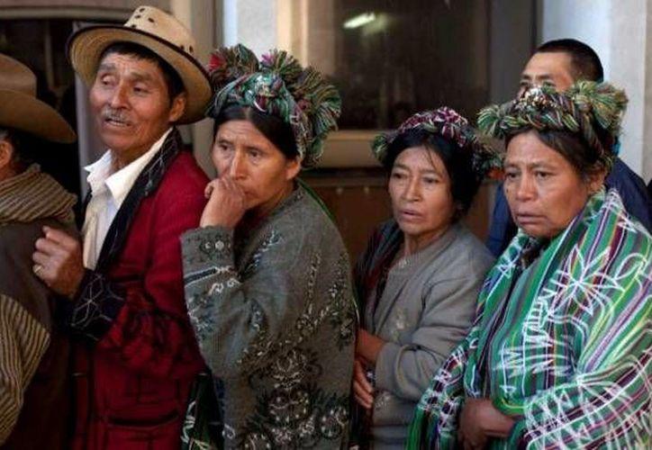 Este es el primer caso de abusos denunciado por mujeres indígenas víctimas que llega a juicio en Guatemala. La imagen cumple funciones estrictamente referenciales. (Archivo/AP)